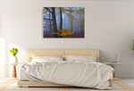 Autumn Forest Wall Art Print on the wall