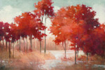 Autumn Lake Wall Art Print