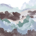 Layers of Winter B Wall Art Print