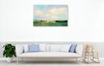 Summer Sky I Wall Art Print on the wall