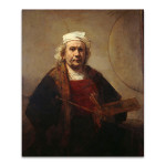 Self Portrait With Two Circles Rembrandt