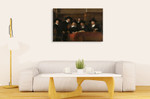 Syndics Of The Drapers Guild Rembrandt on the wall