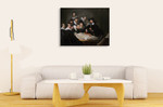 The Anatomy Lesson Of Dr Nicolaes Tulp on the wall