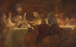The Conspiracy Of Claudius Civilis Rembrandt