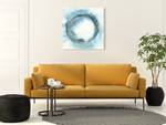 Buddha Enso Wall Art Print on the wall