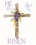 Easter Blessing Saying II Wall Art Print