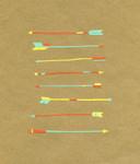 Arrows Wall Art Print