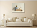 Chinese Puzzle Wall Art Print on the wall