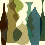 Floating Vases III Wall Art Print