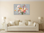Floral Song Wall Art Print on the wall