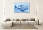 Blue Spirits I Wall Art Print on the wall
