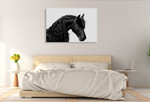 Classic Black I Wall Art Print on the wall