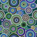 Aboriginal Seamless Art Print, 120x80cm