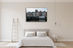 Love in Amsterdam Wall Art Print on the wall