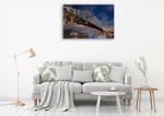 The Sydney Harbour Bridge Wall Art Print on the wall