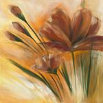 Brown Flower II Wall Art Print