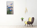 Iris French Cancan Wall Art Print on the wall