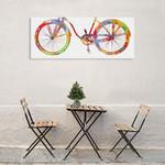 Bike Ride I Wall Art Print on the wall