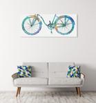 Bike Ride II Wall Art Print on the wall