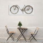 Bike Ride III Wall Art Print on the wall
