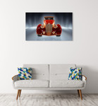 Car Collection 8 Wall Art Print on the wall