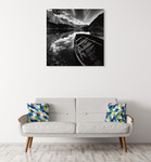 Rowing Boat Wall Art Print on the wall