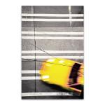 Taxi Crosswalk Wall Art Print