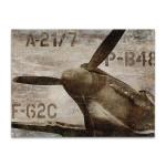 Vintage Airplane Wall Art Print