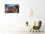 Cinque Terre Wall Art Print on the wall