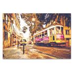 Lisboa Street Wall Art Print