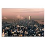 New York Pink Hour Wall Art Print