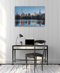 New Yorker Wall Art Print on the wall
