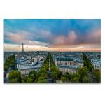 View on Paris Wall Art Print