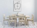 Fruit Contour Apple Wall Art Print on the wall