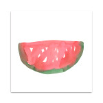 The Watermelon Wall Art Print