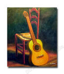 Guitar and a Chair
