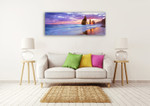 Multi-Colours Wall Art Print on Canvas on the wall