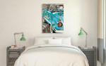 Thunderbird Wall Art Print on the wall