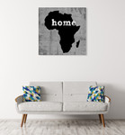 Africa Home Wall Art Print on the wall