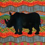 African Animal IV Wall Art Print