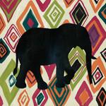 African Animal Jewel I Wall Art Print