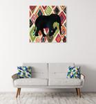 African Animal Jewel I Wall Art Print on the wall