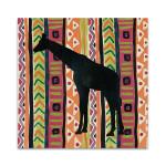 African Animal Jewel III Wall Art Print