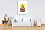 African Royals IV Wall Art Print on the wall