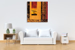 African Studies I Wall Art Print  on the wall