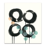 Zen Circles C Wall Art Print