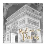 Meet Me in Paris I Wall Art Print