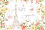 Painting Paris I Wall Art Print