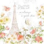 Painting Paris III Wall Art Print