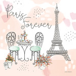 Sweet Paris III Wall Art Print